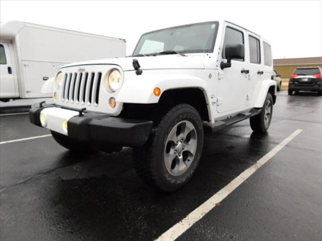 Pre-Owned 2016 Jeep Wrangler Unlimited Unlimited Sahara
