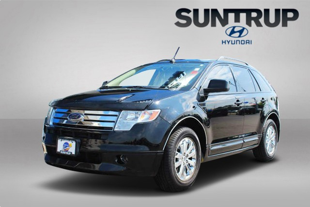 Wheel Drive Four Door Sedan Pre Owned  Ford Edge Sel Plus