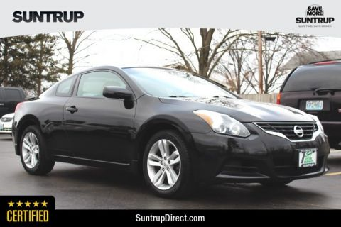 Pre-Owned 2012 Nissan Altima Coupe 2.5 S
